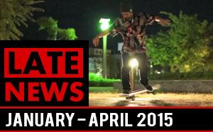 LateNews - Freestyle skateboard news