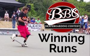Paderborn Freestyle Skateboard Contest - Winning Runs